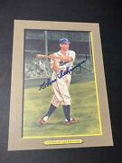 1988 Perez Steele Greatest Moments Signed Charlie Chas Gehringer Auto Card Photo