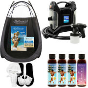 Ultra Pro Qc Sunless Airbrush Spray Tanning System 4 Simple Tan Solutions Tent