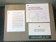 Vintage Apple Macintosh Apple Performa Plus Display User's Guide And Inserts Only