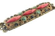 Michal Golan Hand Crafted Semi Precious Stone Mezzuzah Brand New With Tags Sale