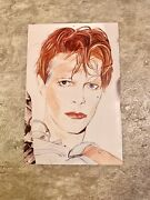 David Bowie Vintage Postcard 1980 Rare One Of A Kind Scary Monsters