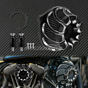 Spiral Cut Air Cleaner Intake Filter Fit For Harley Softail 16-17 Flhtcu 2008