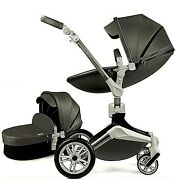 Hot Mom Baby Stroller Travel System With Bassinet And Car Seat 360anddeg Rotation New