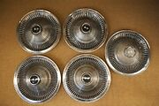 Original 68 69 70 71 72 73 Corvette P02 15 Wheel Covers Hub Caps Cap