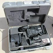 Sony Dxc-d30 Camcorder With Beta And 26-pin Backs, Lens And Case