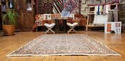Exquisite Antique 1930-1940s Wool Pile Sage Green Bunyan Area Rug 3and0398andtimes5and0397