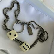 Maison Margiela Dice Necklace Made In Italy Menand039s Fashion Accessories Genuine Fs