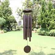 Astarin Memorial Wind Chimes Outdoor, Deep Tone, 45, 6 Large Tubes,bronze Color