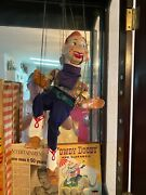 Howdy Doody Doll With Original Box. It Has Been In A Glass Case For 30 Years