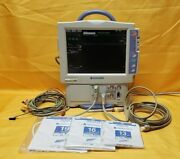 Nihon Kohden Bsm-4114a Bedside Patient Monitor With Cuffs And Accessories