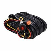 Kc Hilites 6308 Wiring Harness For Two Lights With 2-pin Deutsch Connectors New