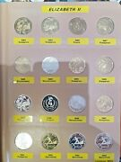 1 Proof Collection 1984 To 2008 Including All Silver In Dansco Supreme Album
