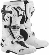 Alpinestars Tech 10 Supervented Mx Offroad Boots White