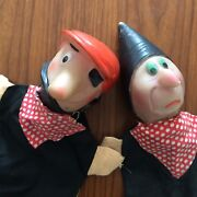 Two Puppets To Finger Antique Robbers/2 Antique Outlaws Finger Puppets