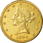 [881474] Coin United States Coronet Head 10 1894 New Orleans Au
