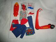 Vintage Skipper Doll And Fun On Wheels Set Complete