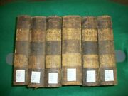 Henry's Exposition Of The Old And New Testament 1828 Leather Bound Original Comp