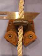 Vintage Tuphblox Large Cam Cleats Fairleads Base All Springs Present