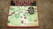 Very Rare Antique 1936 Highway Patrol Auto Car Board Game Parker Brothers