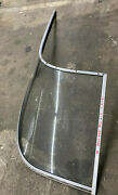 1996 Bayliner Capri 1850 Ls Right Side Curved Windshield Glass Whole Piece