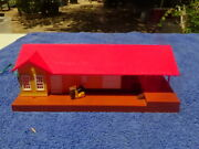 Bachman Lighted Grovemont Frieght Station Station Ho Scale Missing Chimney