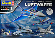 Revell 05797 1/72 Gift 60th Anniversary German Luftwaffe 4 Model Kits In Box