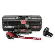 Warn 101130 Powersports Winch Axon 35-s 50ft X 3/16in Synthetic Rope 3500 Lbs