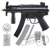 Umarex Heckler And Koch Hk Mp5k Bb Aeg Airsoft Rifle With Wearable4u Bundle