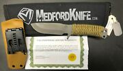 Medford Knife And Tool D-fm2 Tactical Knife Fixed Blade Od Green Free Shipping