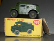 Dinky Toys 688 Field Artillery Tractor 1957-61 Mint Boxed