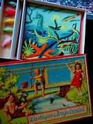 Pre-wwii Beautifullustiges Angelspiel Incredible Fishing Game-celluloid Fish,