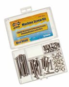 Invincible Marine Stainless Steel Machine Screw Kit 81-pieces