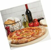 Cucinapro Pizza Stone For Oven, Grill, Bbq- Round Pizza Baking Stone- Xl 16.5...