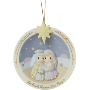 Precious Moments 201022 Let Earth Receive Her King - Nativity Ornament 2020 New