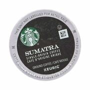 Starbucks Sumatra Coffee K-cups 96 Cups 4-pack 96 Count Pack Of 1