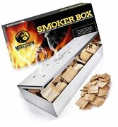 Smoker Box For Wood Chips - Use A Gas Or Charcoal Bbq Grill And Still Get Tha...