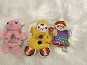 Lot Of Baby Toys Fisher Price Gund Amtoy Bear Clown Rattle Vintage