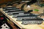 Lionel Nyc Passenger And Engine A,b Andc, Gray O Gaugethe Locomotives Are Of The