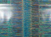 Di Lewis Finesse/teal Awning Stripe Polished Plain Weave Cotton Fabric