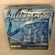 Antworks Ant Colony Blue Led Fascinations Complete Opened For Pics Unused New