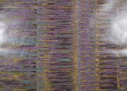 Di Lewis - Finesse/amethyst 10 Yds., 80s Awning Stripe, Polished Cotton Fabric