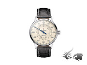 Meistersinger Pangaea Day Date Automatic Watch 40mm Ivory Pdd903-sg01w