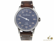 Meistersinger N1 City Edition Madrid Manual Watch Blue Limited Edition
