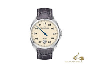 Meistersinger Metris Ivory Automatic Watch 38mm Leather Strap Me903-sg06