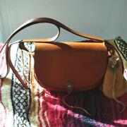 Goroand039s Remake Vintage Brown Leather Cross Body Pouch Bag Ladies F/s From Japan