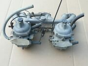 Intake V3265 And Zenith Stromberg Carbs 175 Cd-2 - From 1974 Tvr Tr6 Engine