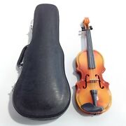 Miniature Violin Case Made For American Girl No Bow Or Book