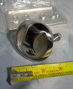 Nos 2-1/2 Stainless Flush Mount Boat Ski Tow Eye With Backing Plate Nuts
