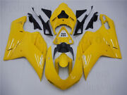 New Yellow Injection Mold Fairing Fit For 07-2012 Ducati 1098 1198 848 Body Work