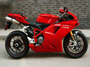 Red Fairing Fit For 2007-2012 Ducati 848 1098 1198 Mold Abs Injection Body Kit